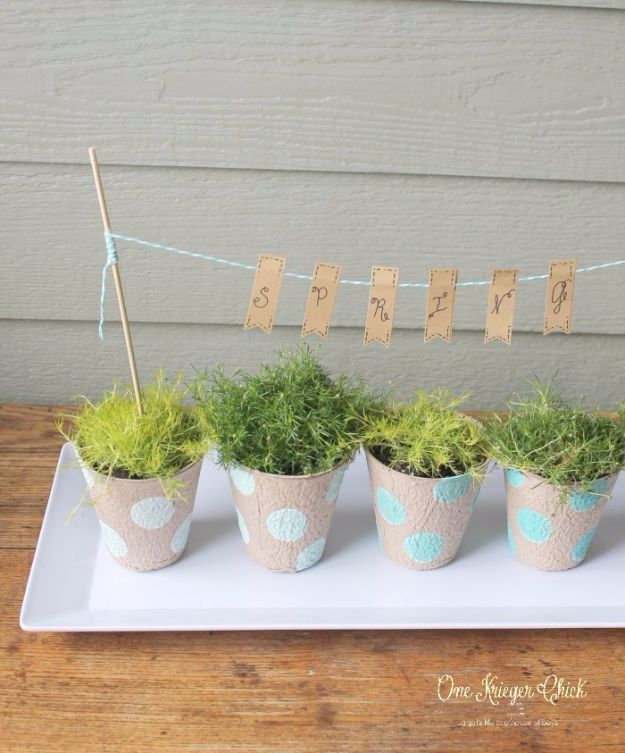 Last Minute Christmas Gifts - Indoor Tabletop Garden - Quick DIY Gift Ideas and Easy Christmas Presents To Make for Mom, Dad, Family and Friends - Dollar Store Crafts and Cheap Homemade Gifts