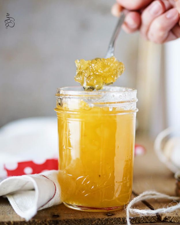 Best Jam and Jelly Recipes - Pineapple Jam - Homemade Recipe Ideas For Canning - Easy and Unique Jams and Jellies Made With Strawberry, Raspberry, Blackberry, Peach and Fruit - Healthy, Sugar Free, No Pectin, Small Batch, Savory and Freezer Recipes  #recipes #jelly