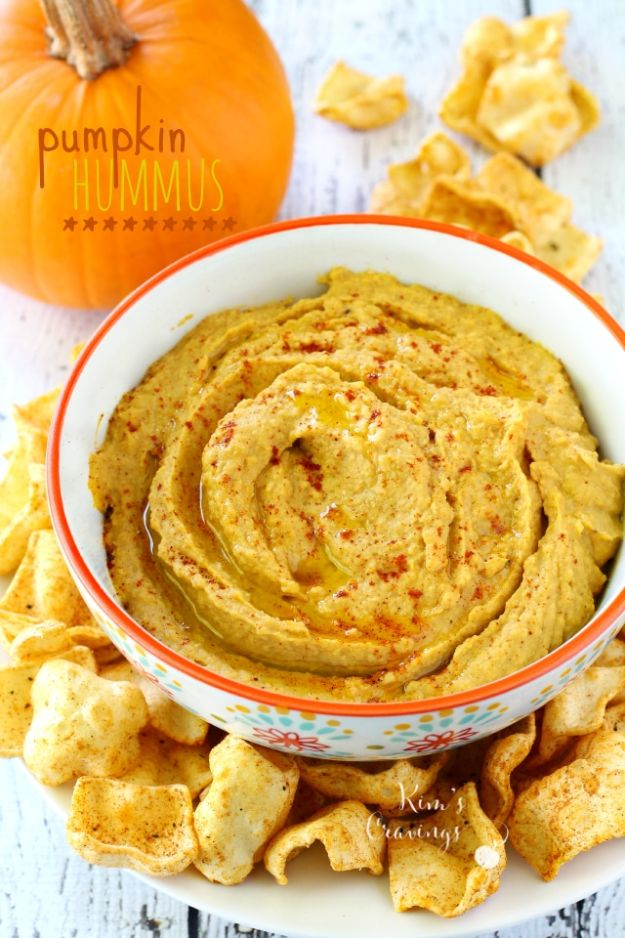 Healthy Thanksgiving Recipes - Pumpkin Hummus - Low fat Versions of Your Favorite Holiday Recipe for Turkey, Stuffing, Gravy, Pie and Desserts, Appetizers, Vegetables and Side Dishes like Spinach, Broccoli, Cranberries, Mashed Potatoes, Sweet Potatoes and Green Beans - Easy and Quick Last Minute Thanksgiving Recipes for Low Carb, Low Fat and Clean Eating Diet