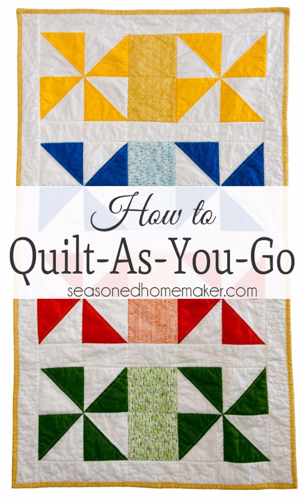 Best Quilts to Make This Weekend - Quilt As You Go - Free Quilt Patterns and Quilting Tutorials - Quilting for Beginners and Sewing Ideas - DIY Baby Quilts, Printables, New and Easy Modern Quilts, Jelly Roll, Quilt Squares, Fat Quarters and Scrap Ideas #diy #quilting #sewing