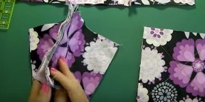 She Sews 3 Layers Of Squares Together And What She Does Next Is An Amazing Decor Item!