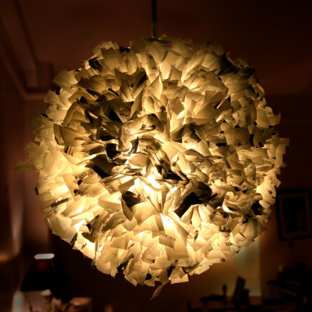 DIY Ideas With Plastic Bags - Recycled Plastic Bag Pendant Light - How To Make Fun Upcycling Ideas and Crafts - Awesome Storage Projects Using Recycling - Coolest Craft Projects, Life Hacks and Ways To Upcycle a Plastic Bag #recycling #upcycling #crafts #diyideas