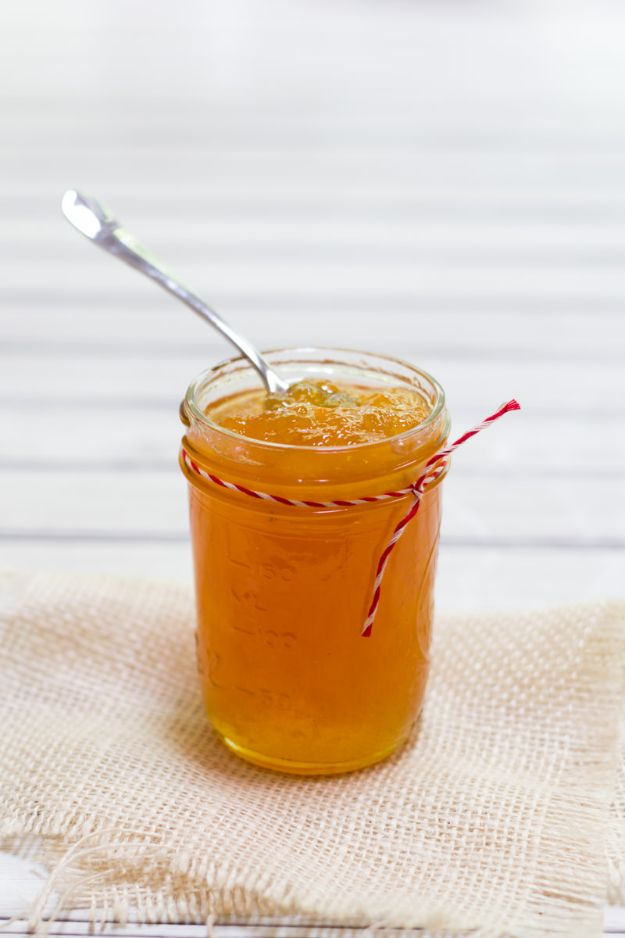 Best Jam and Jelly Recipes - Salted Cantaloupe Jam - Homemade Recipe Ideas For Canning - Easy and Unique Jams and Jellies Made With Strawberry, Raspberry, Blackberry, Peach and Fruit - Healthy, Sugar Free, No Pectin, Small Batch, Savory and Freezer Recipes  #recipes #jelly