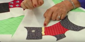 She Cuts Out Scottie Dogs And Makes The Cutest Quilt Ever. Watch!