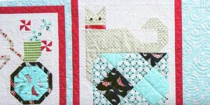 She Pieces A Cat Into This Amazing Quilt Block And Adds Other Exciting Blocks!
