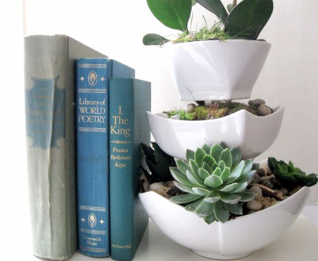 Cheap DIY Gifts and Inexpensive Homemade Christmas Gift Ideas for People on A Budget - Succulent Planter - To Make These Cool Presents Instead of Buying for the Holidays - Easy and Low Cost Gifts for Mom, Dad, Friends and Family - Quick Dollar Store Crafts and Projects for Xmas Gift Giving #gifts #diy