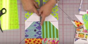 She Lines Up Her Fabric Blocks Like A Puzzle And Makes A Design That Everyone Loves!