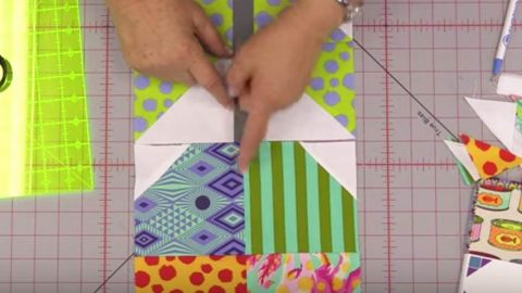 She Lines Up Her Fabric Blocks Like A Puzzle And Makes A Design That Everyone Loves! | DIY Joy Projects and Crafts Ideas