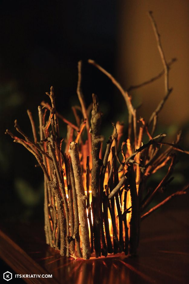 DIY Wedding Decor - Twinkling Twigs - Easy and Cheap Project Ideas with Things Found in Dollar Stores - Simple and Creative Backdrops for Receptions On A Budget - Rustic, Elegant, and Vintage Paper Ideas for Centerpieces, and Vases