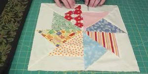 She Cuts Rectangular Pieces, Making A Magical Stack And Whack Quilt That You'll Love!