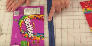 She Takes Plastic Candy Bags And What She Does With Them Is Super Cool!