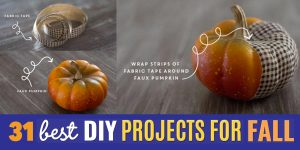 31 DIY Projects To Make This Fall