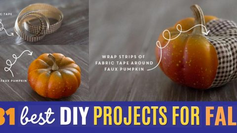 31 DIY Projects To Make This Fall | DIY Joy Projects and Crafts Ideas