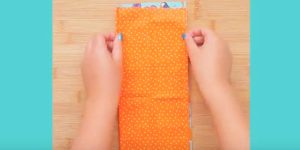 You'll Never Guess What She Makes With Two Strips Of Fabric And Some Ribbon…Brilliant!