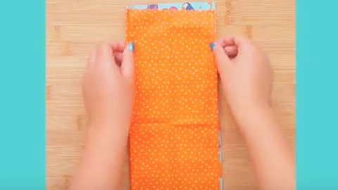 You'll Never Guess What She Makes With Two Strips Of Fabric And Some Ribbon…Brilliant! | DIY Joy Projects and Crafts Ideas