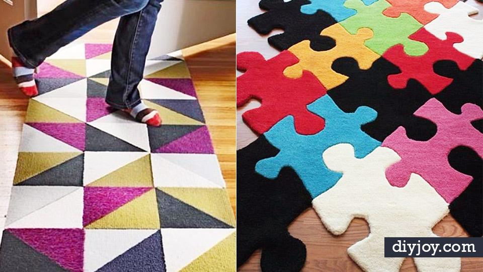 18 Diy Ideas For Leftover Carpet Scraps