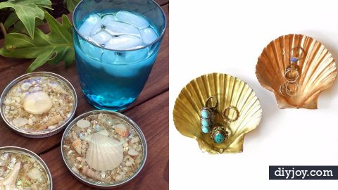 31 DIY Ideas to Make With Sea Shells   DIY Joy Projects and Crafts Ideas