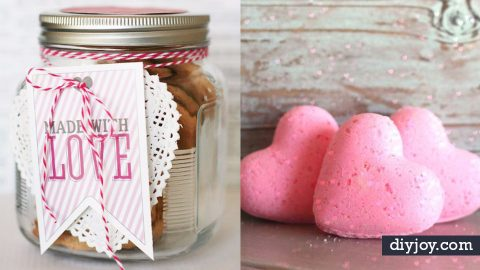 34 DIY Valentine's Gift Ideas for Her | DIY Joy Projects and Crafts Ideas