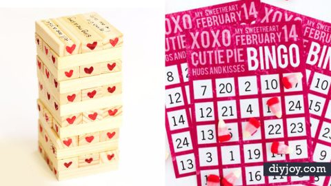 34 Best Valentine's Games You Can Make   DIY Joy Projects and Crafts Ideas