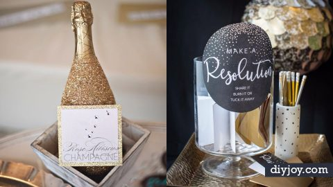 37 DIY New Years Eve Decor Ideas | DIY Joy Projects and Crafts Ideas