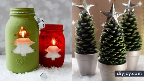 38 Inexpensive DIY Decor Ideas For The Holidays | DIY Joy Projects and Crafts Ideas