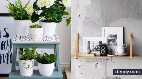41 IKEA Hacks for DIY Bedroom Decor | DIY Joy Projects and Crafts Ideas