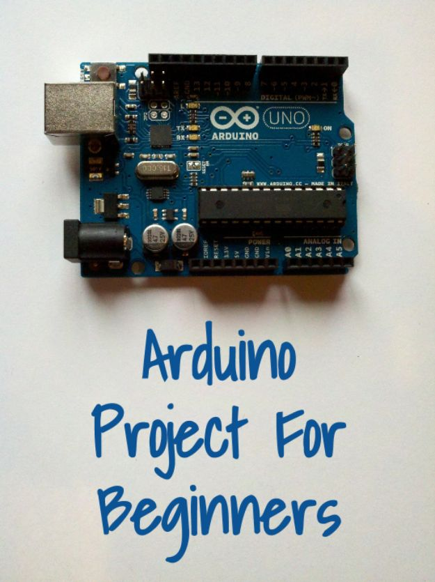 DIY Gadgets - Arduino Project For Beginners - Homemade Gadget Ideas and Projects for Men, Women, Teens and Kids - Steampunk Inventions, How To Build Easy Electronics, Cool Spy Gear and Do It Yourself Tech Toys #gadgets #diy #stem #diytoys
