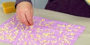 She Is Super Frugal And Irons Beeswax On A Piece Of Cotton…You Won't Even Believe Why!