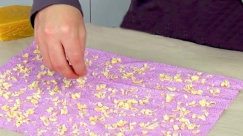 She Is Super Frugal And Irons Beeswax On A Piece Of Cotton…You Won't Even Believe Why! | DIY Joy Projects and Crafts Ideas