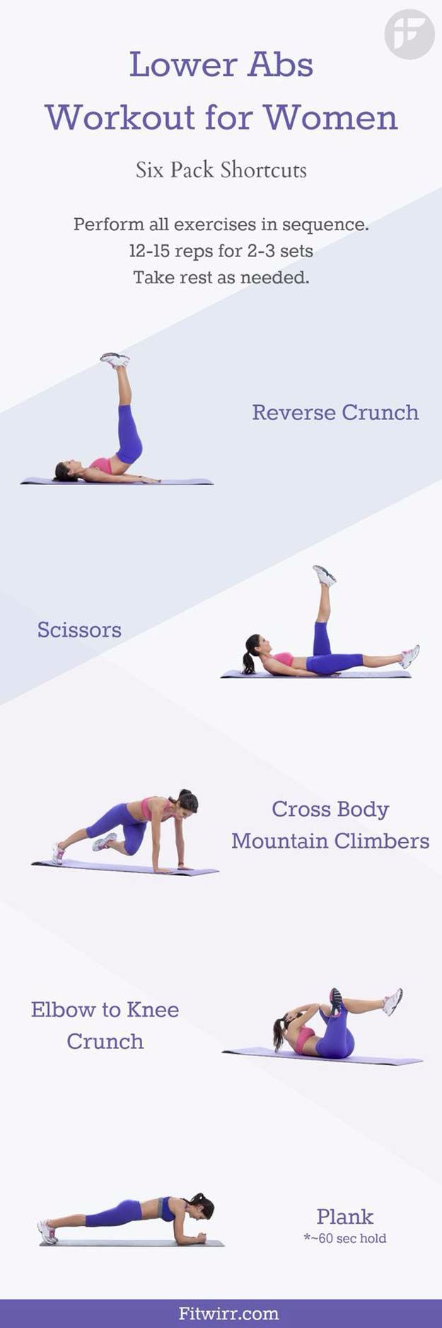 Best Exercises for 2018 - Best Lower Abs Workout for Women - Easy At Home Exercises - Quick Exercise Tutorials to Try at Lunch Break - Ways To Get In Shape - Butt, Abs, Arms, Legs, Thighs, Tummy http://diyjoy.com/best-at-home-exercises-2018