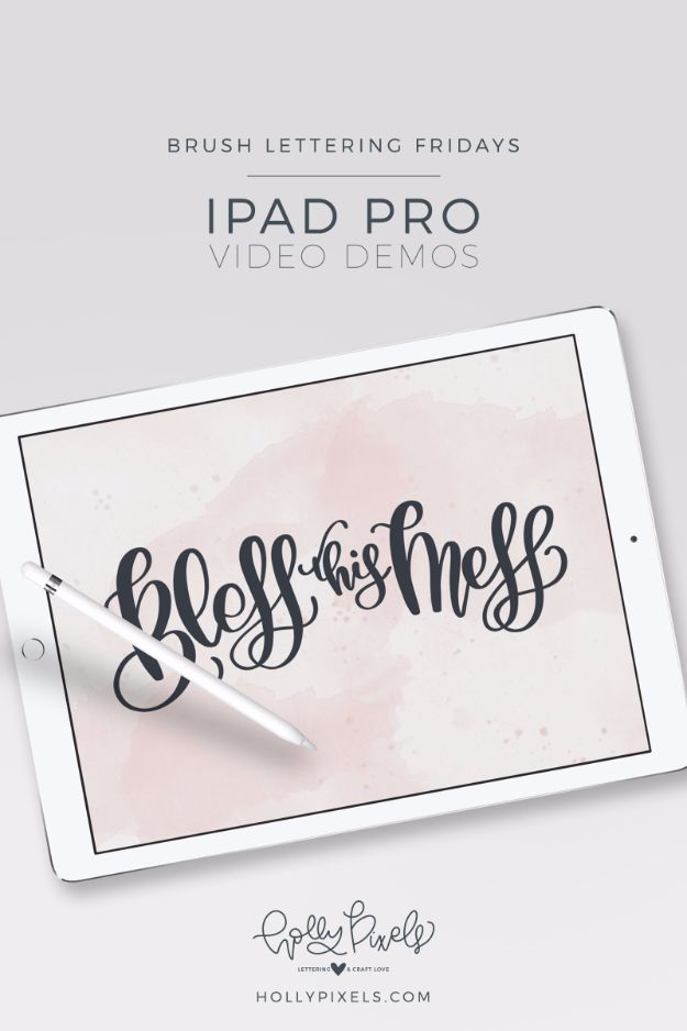 1990812ca9c Best Ipad Tips and Tricks - Brush Lettering on Ipad Pro - Awesome Ideas for  Ways