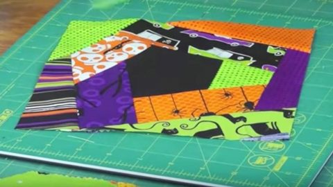 Use Up Your Scraps And No Measuring Involved, A Crazy Quilt Is One The Easiest Quilts! | DIY Joy Projects and Crafts Ideas
