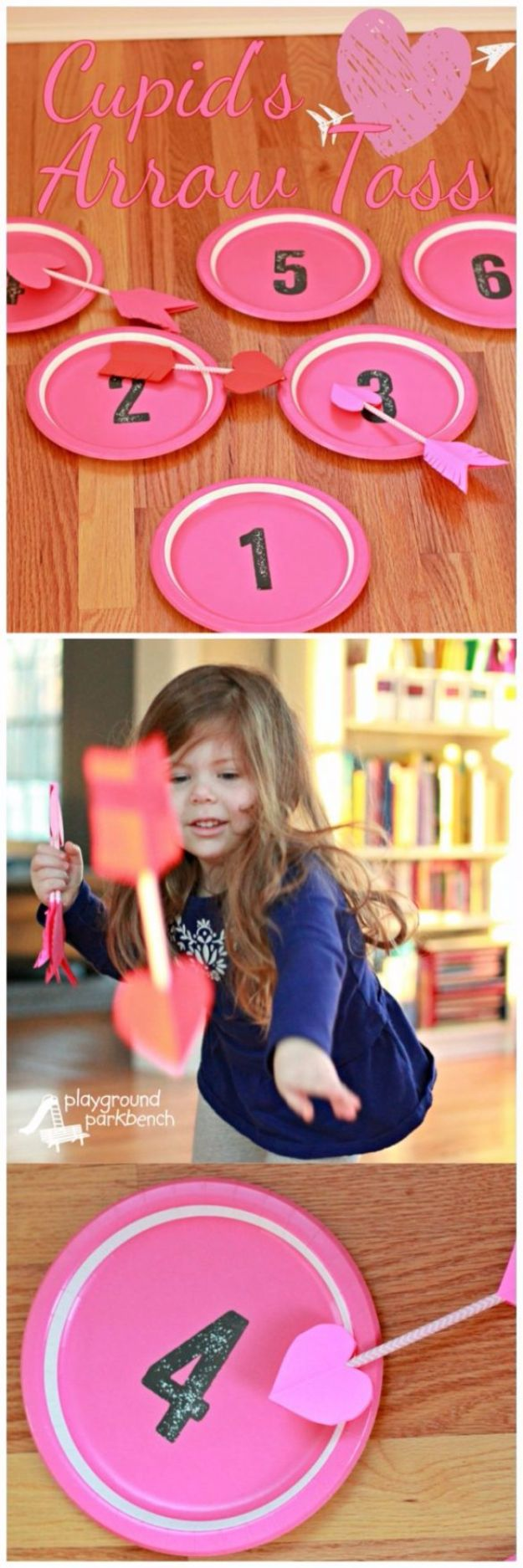 Cool Games To Make for Valentines Day - Cupid's Arrow Toss - Cheap and Easy Crafts For Valentine Parties - Ideas for Kids and Adults to Play Bingo, Matching, Free Printables and Cute Game Projects With Hearts, Red and Pink Art Ideas - Adorable Fun for The Holiday Celebrations #valentine #valentinesday