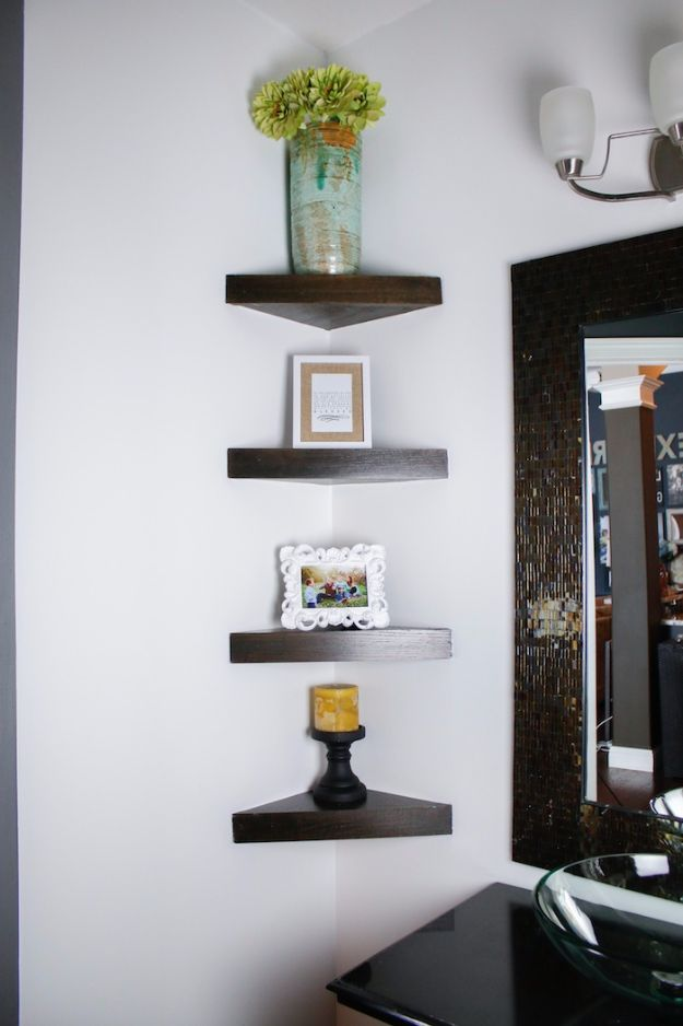 Old Ladder Shelves