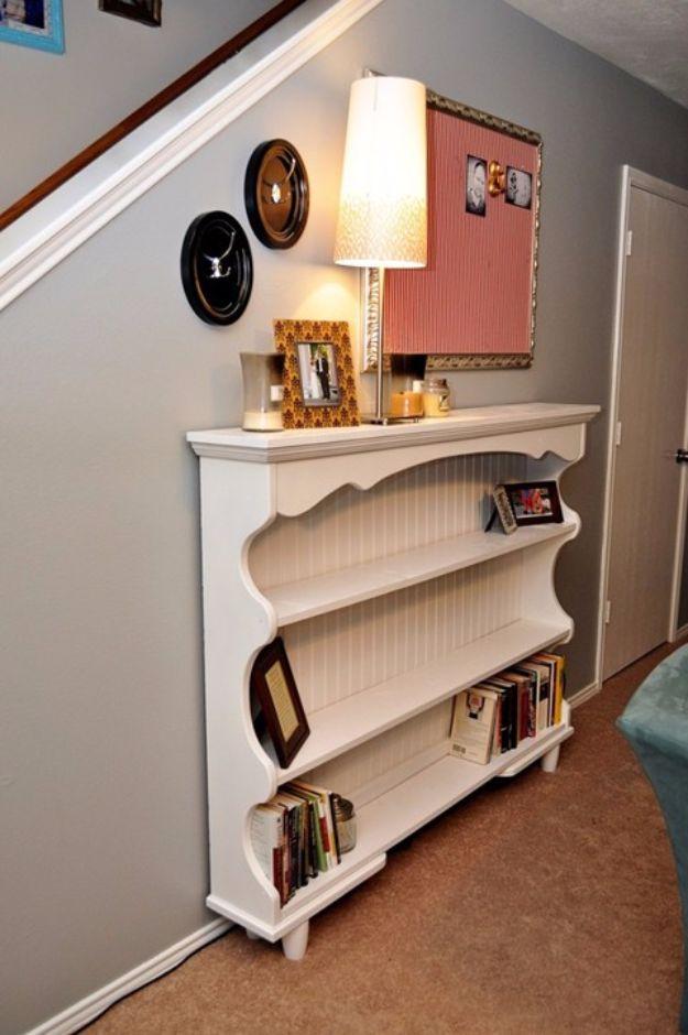Best Furniture Hacks - DIY Dresser Hutch Turned Sofa Table - Easy DIY Furniture Makeover Ideas for Cheap Home Decor - IKEA Hack Tutorials, Dressers, Cribs, Storage, For Kids, Bedroom and Good Ideas for Bath - Anthropologie, Walmart, Kmart, Target http://diyjoy.com/best-furniture-hacks