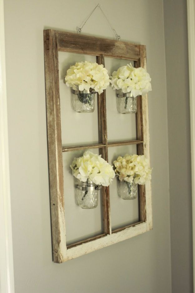 Best DIY Home Decor Crafts - DIY Mason Jar Decor - Easy Craft Ideas To Make From Dollar Store Items - Cheap Wall Art, Easy Do It Yourself Gifts, Modern Wall Art On A Budget, Tabletop and Centerpiece Tutorials - Cool But Affordable Room and Home Decor With Step by Step Tutorials #diyhomedecor