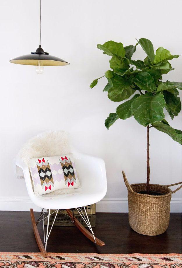 IKEA Hacks For The Bedroom - Easy DIY Pendant Lamp - IKEA Hack Lighting Ideas
