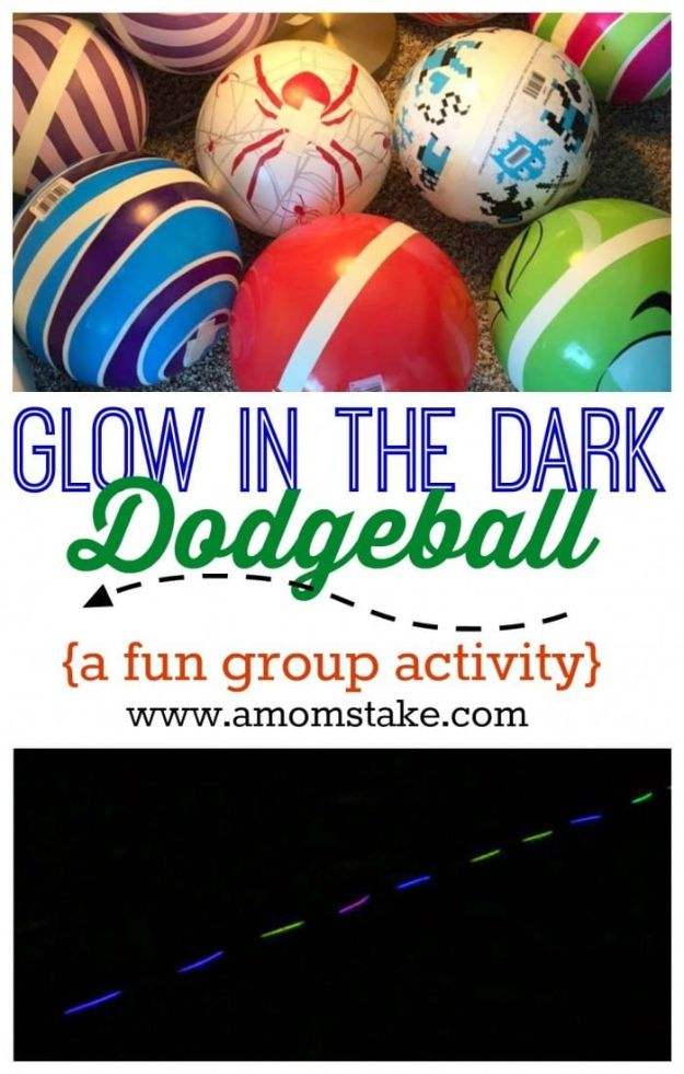 Cool Games To Make for Valentines Day - Glow In The Dark Dodgeball - Cheap and Easy Crafts For Valentine Parties - Ideas for Kids and Adults to Play Bingo, Matching, Free Printables and Cute Game Projects With Hearts, Red and Pink Art Ideas - Adorable Fun for The Holiday Celebrations #valentine #valentinesday