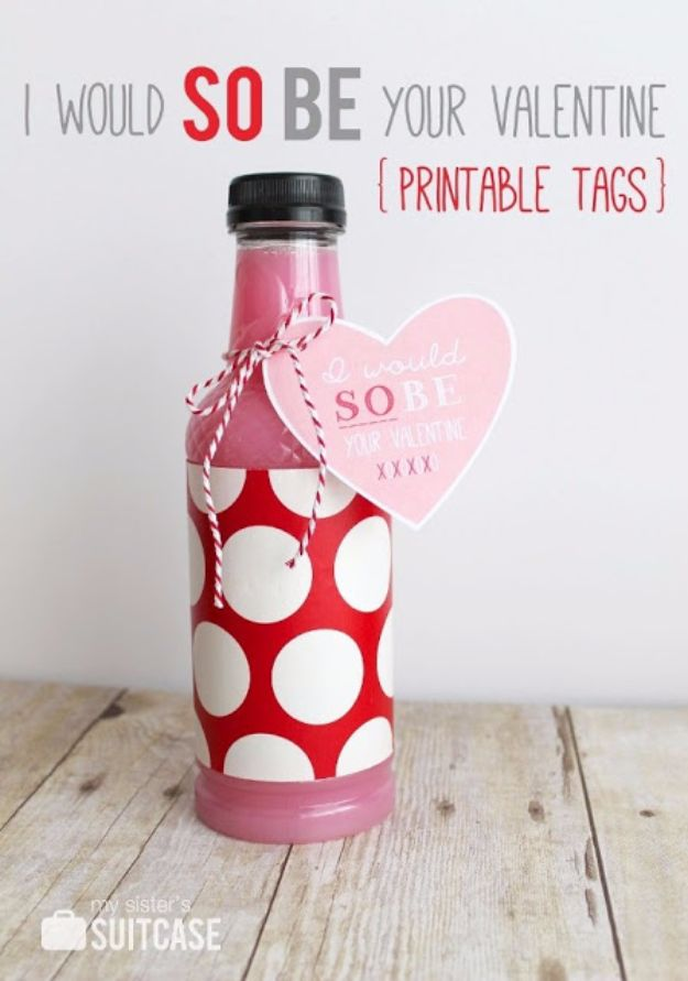 DIY Valentines Day Gifts for Her - I would Be So Your Valentine - Cool and Easy Things To Make for Your Wife, Girlfriend, Fiance - Creative and Cheap Do It Yourself Projects to Give Your Girl - Ladies Love These Ideas for Bath, Yard, Home and Kitchen, Outdoors - Make, Don't Buy Your Valentine http://diyjoy.com/diy-valentines-gifts-her