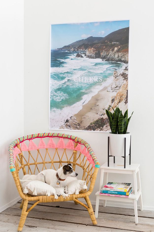 IKEA Hacks For The Bedroom - IKEA Hack to Update Your Classic Rattan Chair - Best IKEA Furniture Hack Ideas for Bed, Storage, Nightstand, Closet System and Storage, Dresser, Vanity, Wall Art and Kids Rooms - Easy and Cheap DIY Projects for Affordable Room and Home Decor #ikeahacks #diydecor #bedroomdecor