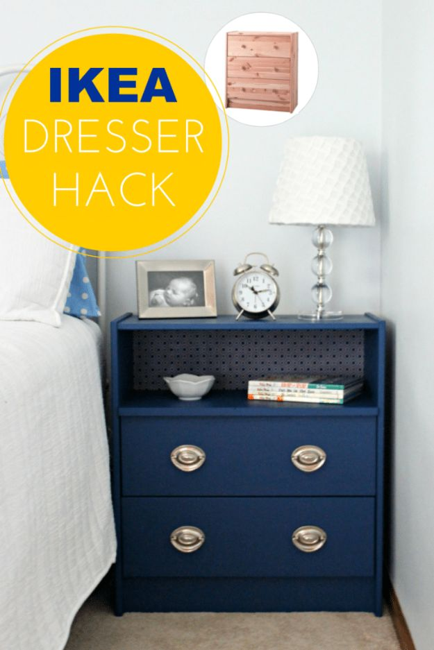 IKEA Hacks For The Bedroom - IKEA Rast Dresser Hack - Best IKEA Furniture Hack Ideas for Bed, Storage, Nightstand, Closet System and Storage, Dresser, Vanity, Wall Art and Kids Rooms - Easy and Cheap DIY Projects for Affordable Room and Home Decor #ikeahacks #diydecor #bedroomdecor