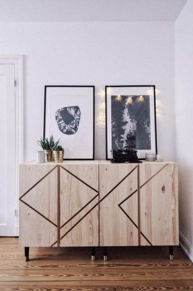 IKEA Hacks For The Bedroom - Ivar Cabinet Hack - Best IKEA Furniture Hack Ideas for Bed, Storage, Nightstand, Closet System and Storage, Dresser, Vanity, Wall Art and Kids Rooms - Easy and Cheap DIY Projects for Affordable Room and Home Decor #ikeahacks #diydecor #bedroomdecor