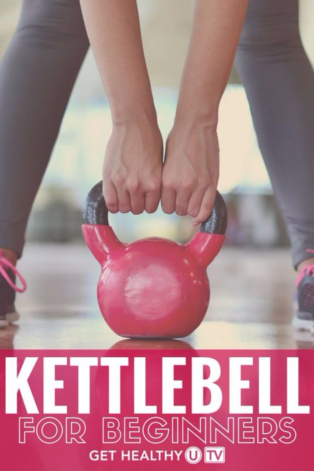 Best Exercises for 2018 - Kettlebell for Beginners - Easy At Home Exercises - Quick Exercise Tutorials to Try at Lunch Break - Ways To Get In Shape - Butt, Abs, Arms, Legs, Thighs, Tummy http://diyjoy.com/best-at-home-exercises-2018