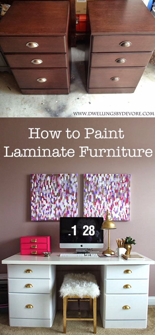 how to tell if furniture is laminate