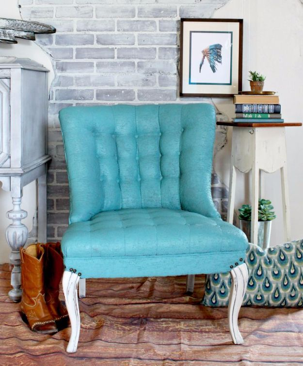Best Furniture Hacks - Painting Upholstery - Easy DIY Furniture Makeover Ideas for Cheap Home Decor - IKEA Hack Tutorials, Dressers, Cribs, Storage, For Kids, Bedroom and Good Ideas for Bath - Anthropologie, Walmart, Kmart, Target http://diyjoy.com/best-furniture-hacks