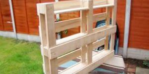 He Makes A Useful Item Out Of A Pallet That We All Need At Least One Of. Learn How!
