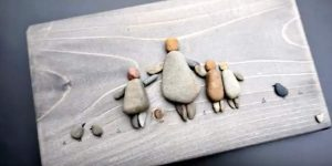 What She Does With Pebbles Is Brilliant And It Makes A Charming Gift Idea. Watch!