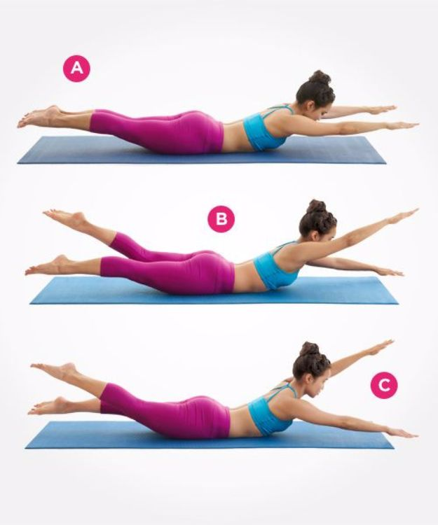 Best Exercises for 2018 - Pilates Moves For A Flatter Stomach - Easy At Home Exercises - Quick Exercise Tutorials to Try at Lunch Break - Ways To Get In Shape - Butt, Abs, Arms, Legs, Thighs, Tummy http://diyjoy.com/best-at-home-exercises-2018