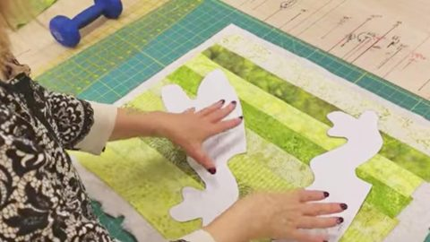 After She Sews Fabric Strips Together She Makes A Fun And Adorable Item. Watch! | DIY Joy Projects and Crafts Ideas