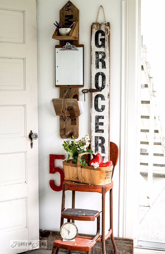 Best DIY Home Decor Crafts - Reclaimed Wood Message - Easy Craft Ideas To Make From Dollar Store Items - Cheap Wall Art, Easy Do It Yourself Gifts, Modern Wall Art On A Budget, Tabletop and Centerpiece Tutorials - Cool But Affordable Room and Home Decor With Step by Step Tutorials #diyhomedecor